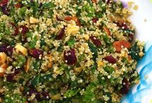 quinoa / cous cous