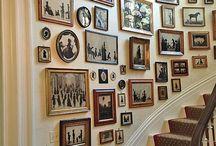 Ściany galerii