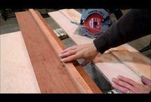 Lav din egen føringsskinne til rundsaven / Med føringsskinnen kan du lave perfekte lange snit med rundsaven i store træplader.