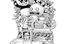 Doodle invadion
