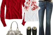 Fashion ~ Jeans (Red)