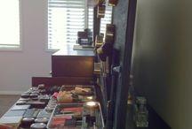 Vanity Stations / Dressers, mirrors, lights, storage