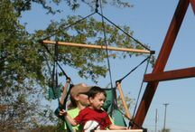 Swing Accessories for your backyard playground / Swings and swing accessories designed for swing sets, playsets, playscapes or stand alone swing beams.
