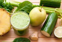 Jus/boissons detox et Smoothies / On vous dit tout sur les recettes et les bienfaits des jus detox --> --> http://blog.fitnext.com/les-bienfaits-des-jus-detox