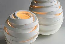 Ceramica fatta a mano / Lampada