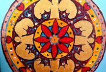 Neelavathi mandale również na na zamówienie / Witam nazywam się Kasia Neelavathi Stankiewicz oto moje mandale,również  na zamówienie, doradztwo duchowe www.mandala-healing.eu