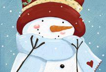Snowmen / by Michelle Roy