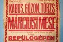Movie poster from Hungary 1920-1930