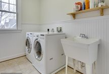 Cottage Laundry Room Design