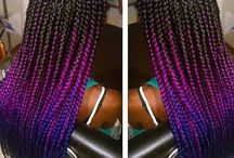 Box braids ideas