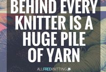 Quotes - spinning a yarn - knitting, crochet, wool