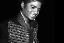 MJ in black and white