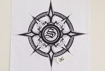 Compass Rose / My artwork