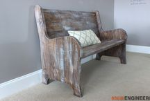 COLETTE - PEW STYLE BENCH