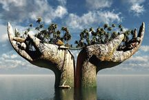 Mondes imaginaires / by Cot Cot Cot