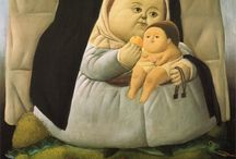 maddonna with child - Botero
