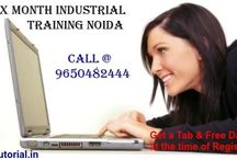 Online Summer/Winter Training in Noida / Itutorial -provides online/offline six (6) months Industrial Training in SEO, Dot Net, HTML, PHP, Android & more courses for MCA, B.Tech students Noida, India.