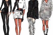 Design Illustrations / stunning designs of different pieces I admire.