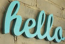 signage {clever} / by Brooke Ossenkop
