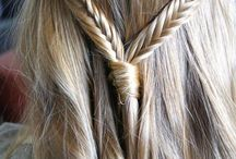 Hair styles for little girls / ALL DIFFERENT STYLES OF BRAIDS AND UP DO'S... / by April Swan