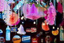 FIESTA COLORIDA / Los colores, objetos antiguos y los detalles fueron los protagonistas
