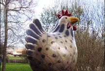 ceramic poule / by Cecile Attia