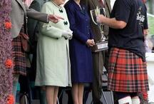 Royals at the Braemar Games