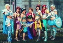 Cosplayin around / by Hailey Margetts