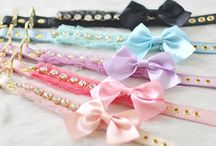 FASHION - Dog Accessories / Dog ribbons, bows, collars, etc