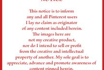 Pinterest Notice / by Karol Iberg