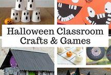 Halloween classroom party