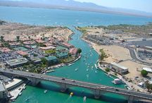 Lake Havasu Boat Rentals located on the water! / We provide everything you'll need for a thrilling day out on the lake, from boat and wakeboard rental, swimwear to beverages, and sunglasses to boating supplies, we have it all.