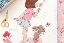 Cross stitch - fairy tales