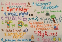 Summer / Cool thangs to do during summer✌