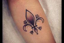 tattoo flor de liz