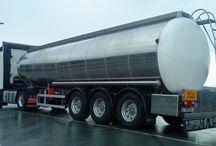 Transporte de resíduos no compactables, carbón, plástico, líquidos