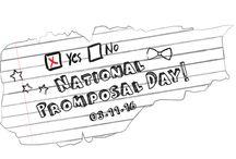 National Promposal Day Galore