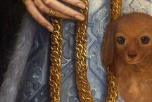 joyas en pinturas