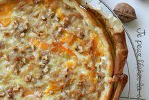 Recettes Quiche, pizzas et tartes salées