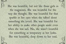 Beautiful writings