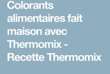 Colorants thermomix