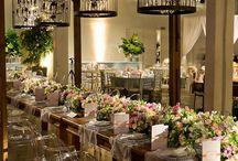 Casamento Romântico / Ideias e sugestões de decorações românticas postadas no blog.