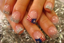 July 4th nails Designs
