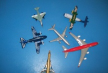 Air Travel ideas for school project / Matthew's oral and model for Grade 2