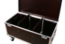 Cases, Racks and Bags / Lots of various cases and bags for the travel-mad musician :)