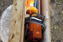 chain saw boxes