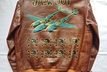 A2 painted flight jackets