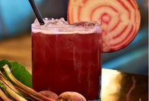 Beets & Booze / Save time by using Red Ace Organics Beet Juice for these boozy recipes!