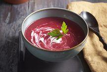 Soupes froides et potages d'été / Une sélection de délicieuses soupes à déguster durant la saison estivale.  / by Magazine Châtelaine