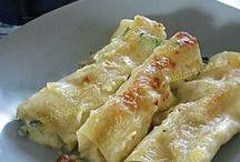 Cannelloni e lasagne